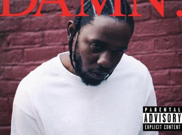 Kendrick Lamar 'Damn' album cover