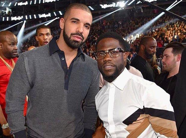 Drake and Kevin Hart