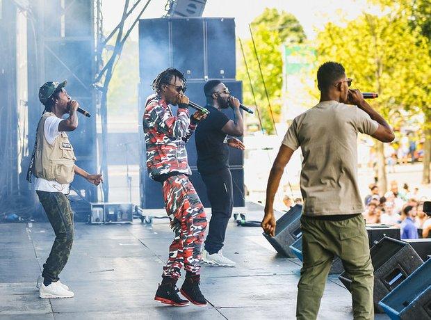 Section Boyz Wireless Festival 2017