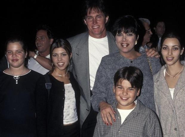 The Kardashian Family Photo